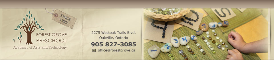 Child Care services Oakville Contact